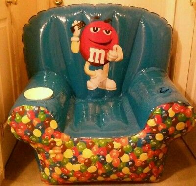 M&M's Inflatable Chair - Brand New Promotional Item
