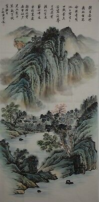 Stunning Large Chinese Painting Signed Master Chen Shaomei No Reserve K7777