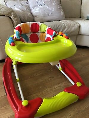 Red Kite Baby Go Round Twist Walker and Baby Bouncer
