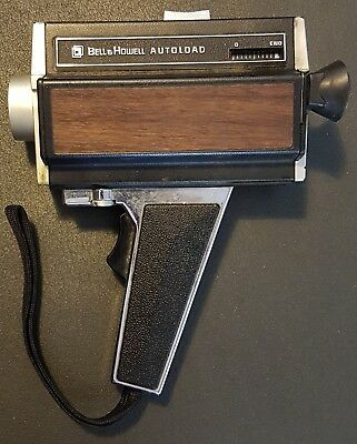 VINTAGE OLD BELL & HOWELL AUTOLOAD  VIDEO CAMERA RECORDER model 372.