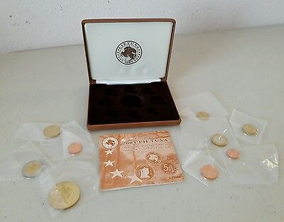 Lithuania Pattern Euro Coin Set 2004 Limited Edition