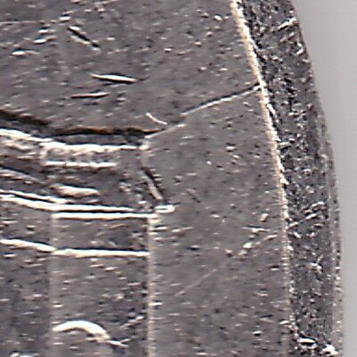 2006P USA 5c coin - 2 die cracks
