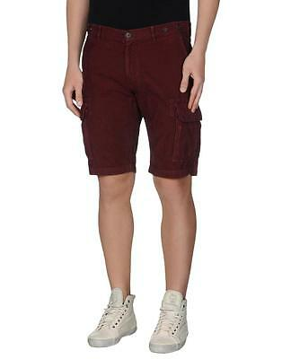 Brunello Cucinelli Blue Cuffed Pleated Shorts US 28 IT 44 NEW BCST105