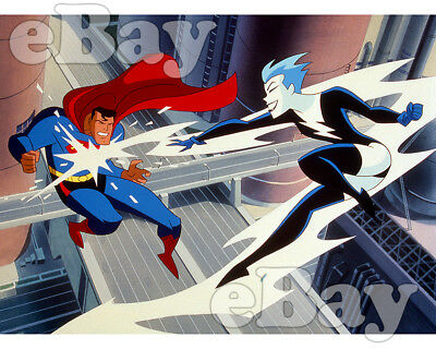 Rare! SUPERMAN THE ANIMATED SERIES Cartoon Photo WARNER BROS ANIMATION DC Comics