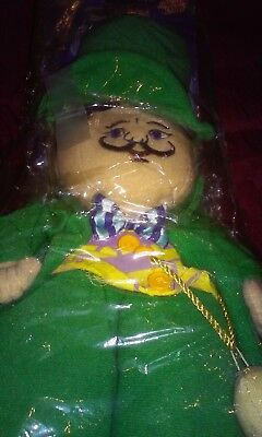 Warner Brothers/Turner Ent. Wizard of Oz Mayor Plush Collectable Doll with Tags.