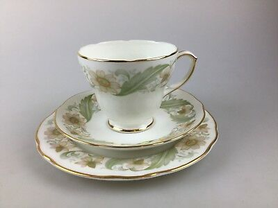 Vintage - Duchess Trio - England - Bone China - Greensleeves Cup Saucer Plate