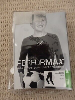 Boys PERFORMAX Full Length Compession Tights SIZE 10C