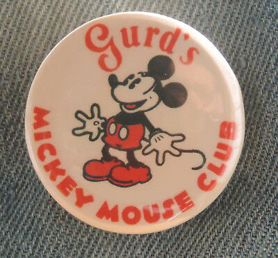 Pin Button Badge Ø38mm  Disney Mickey ( 9 )