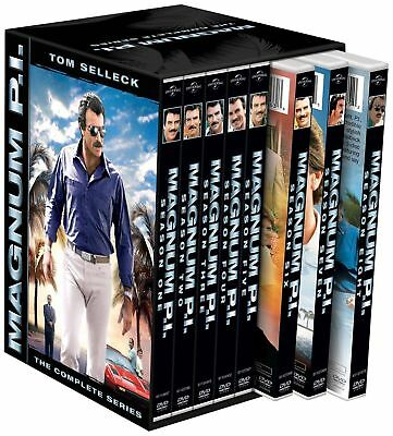 Magnum P.I. The Complete Series DVD,BOX SET SEASONS 1-8,FREE SHIPPING, NEW