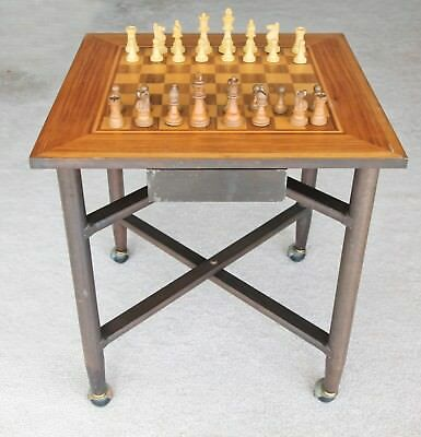 "Folding Wooden Chess Table (24 "") (61 cm) with castors Pickup Manly Vale 2093"
