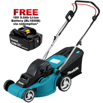 Makita DLM380Z 36V (18V x 2) Li-Ion Cordless Lawn Mower - Skin Only Grass Farm