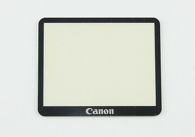 Canon EOS-5D MK2 Mark 2 LCD Display Screen External Glass Cover Replacement Part