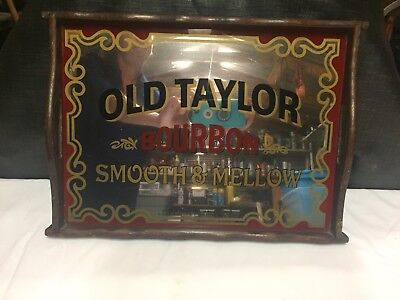 Old Taylor Bourbon Mirrored Tray