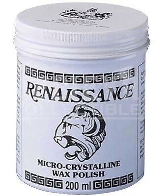 Renaissance Wax 200ml Protects Furniture Leather Marble Metal and Paintings.