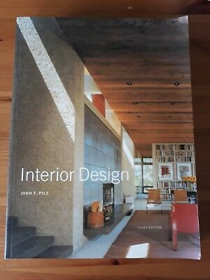 Interior design, by John F Pile, 2003. Very Good condition
