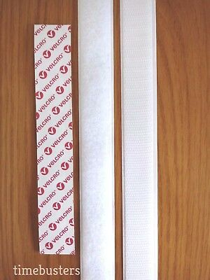 VELCRO Hook And Loop Sticky Back Tape Stick On Black Or White Self Adhesive