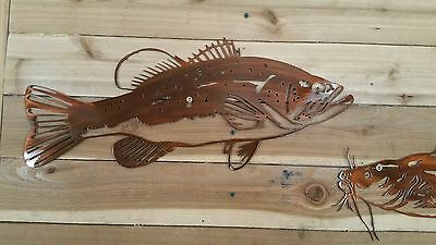 "walleye-Hand Made in Waco Texas 18/"" BIG FISH CNC Wall Art Decor"
