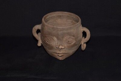 Pottery Extremely Rare Chalcolithic Cup Idol 1800-1400BC museum quality