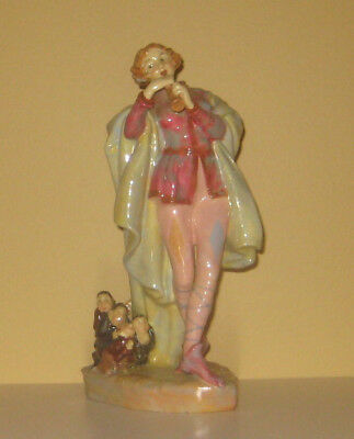 """Exquisite Rare Royal Doulton 'the Pied Piper' Hn756 """"modern"""" Excellent Condition"""