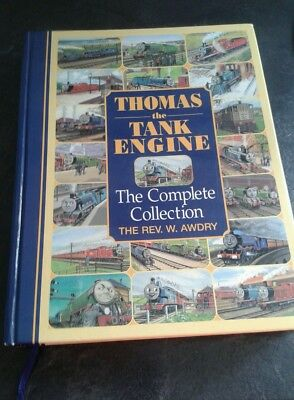 Thomas The Tank Engine. Complete Collection.  Large Hard Back Book