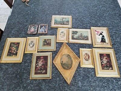 Italian Florentia Vintage Framed Print With Others