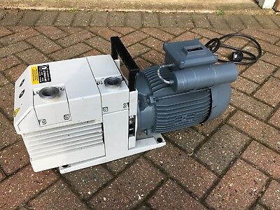 Leybold Trivac S 25 B Single Stage Rotary Vane Vacuum Pump