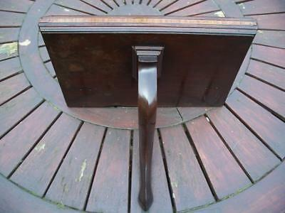 Georgian? Mahogany Clock Wall Bracket / Shelf-Dining-Room Park Gate
