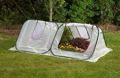 Portable Mini Greenhouse Cold Frame FlowerHouse StarterHouse Plant Cover