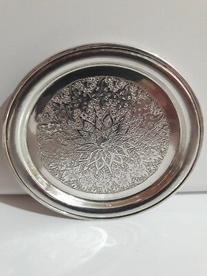 Small Antique 84 Mark, Isfahan / Persian? Silver plate!