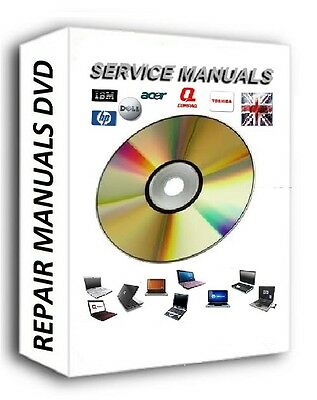 Laptop Repair Manuals On  Dvd Hp Acer Toshiba Ibm Sony Dell Manual Faulty