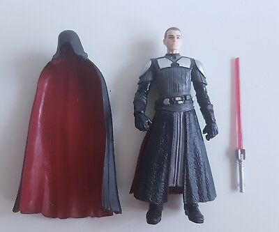 Hasbro Star Wars Force Unleashed 3 3/4 Vaders Apprentice Galen Marek Sith Lord 2
