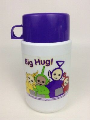 Vintage 90's Thermos Teletubbies Big Hug! Lunch Box Thermos w/ Lid and Cap