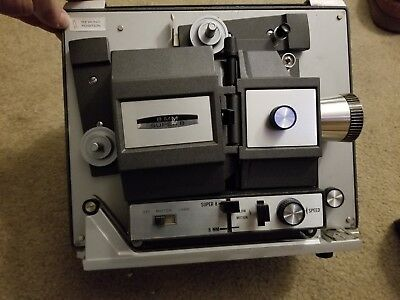 Bell & Howell 456 8mm/Super8 Projector tested