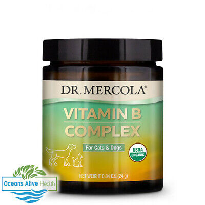 Vitamin B Complex for Pets | Dr Mercola | 60g | Energy, Non-synthetic, Thiamine
