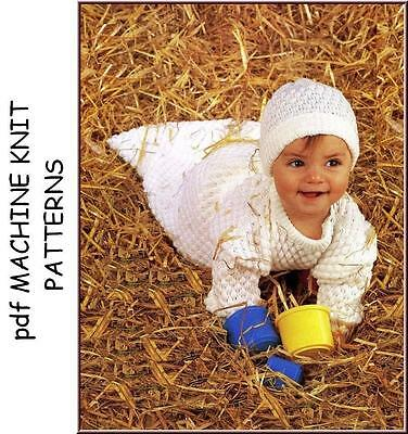 Brother Machine Knitting Patterns for Babies & Children on cd for computers