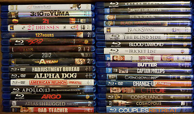 Blu-Ray Movies Lot #2! You Pick Which Ones You Want!