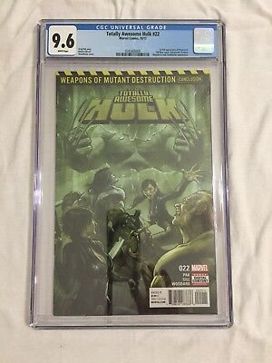 Totally Awesome Hulk 22 CGC 9.6 First Appearance of Weapon H Wolverine/Hulk