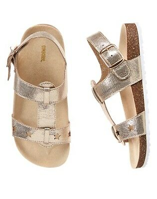 NWT Gymboree Island Girl Shimmer Star Sandals Shoes Girls many sizes