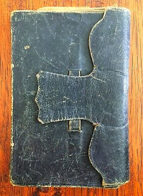 1858-61 Superb Female Diary - Civil War, Depression, Suicide, Wants to be a Man