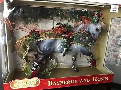 Breyer Bayberry and Roses Holiday Horse