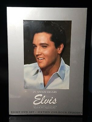 ELVIS PRESLEY 8 Dvd COLLECTOR EDITION THE DEFINITIVE 25th Anniversary STILL SEAL