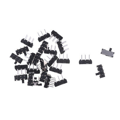 20pcs Slide Switch DPDT 6PIN PCB Panel Mount Mini Micro Toggle Switches New