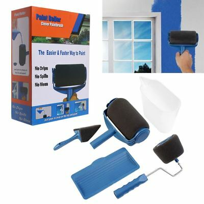5/6Pcs/kit Pro Roller - The Renovator - Pintar Facil Painting Set Top Quality