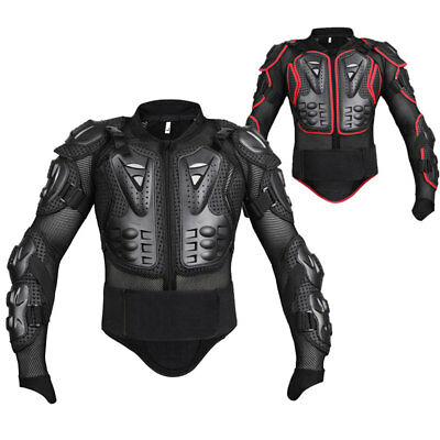 Motorcycle Motocross Jacket Off-road Enduro Quad Chest Spine Elbow Body Armour