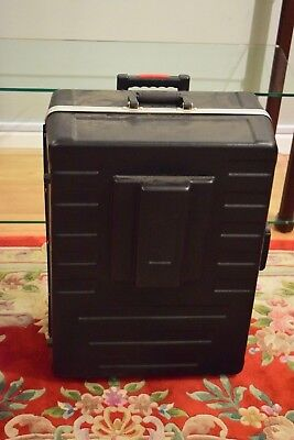Meade ETX-LS LightSwitch telescope hard case with wheels