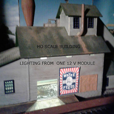 The Best And Easiest Way To Light Your S Scale Model Railroad Structures