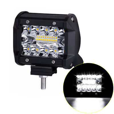 100W Spot 20 LED Light Work Bar Lamp Driving Fog Offroad SUV 4WD Car Boat Truck