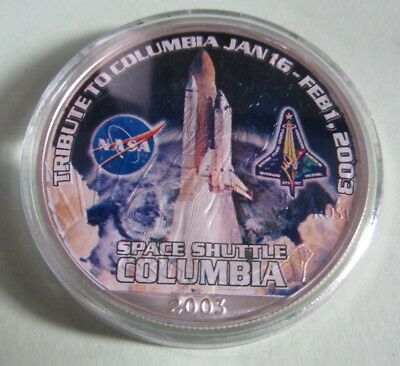 1 Dollar Silver Eagle USA 2003 1 oz / Unze- Tribut to Space Shuttle Columbia