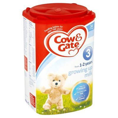 Brand-new Cow & Gate Growing Up Milk Stage 3 from 1-2 years 900g NEW & SEALED