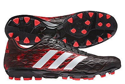 adidas Mens Kakari Light AG Rugby Boots Sports Shoes Studs Black Shoes Sneakers